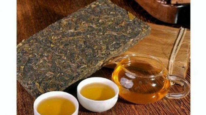 puerh tea brick