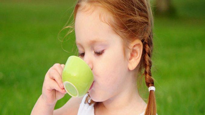 Green healthy tea