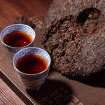 What is shape of  pu erh tea have and different ?