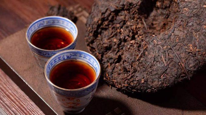 puerh tea cup