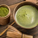 How much matcha tea powder should be added when you drink